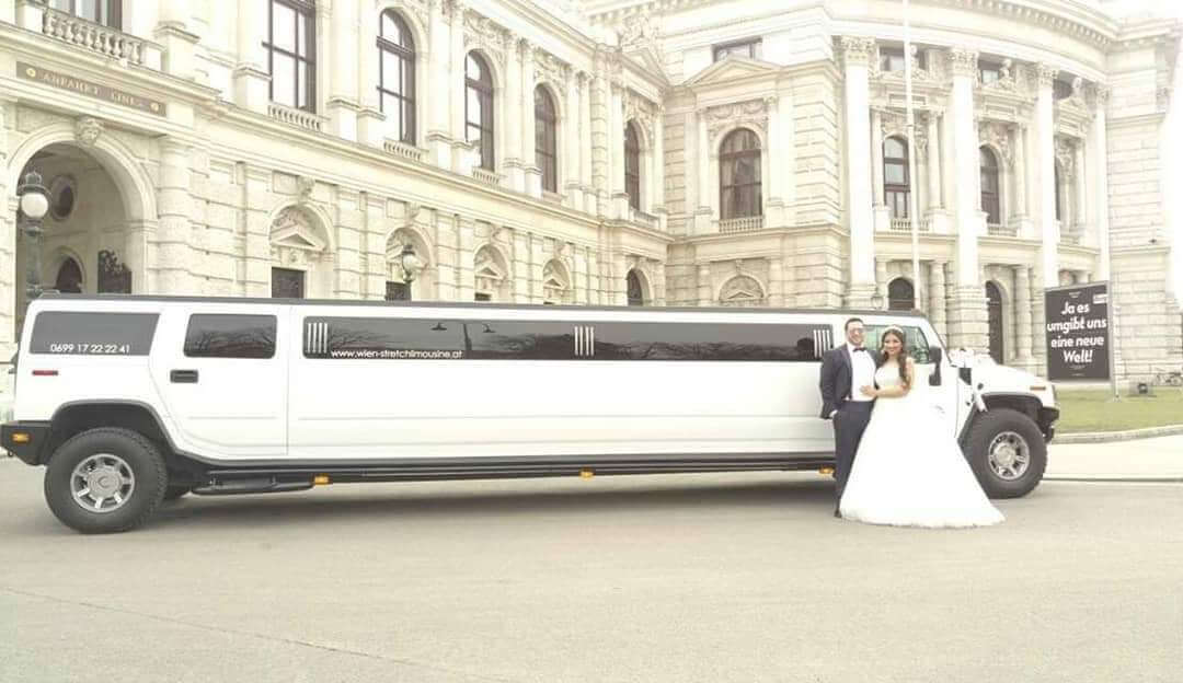 hummer limousine für Hochzeit mieten in wien
