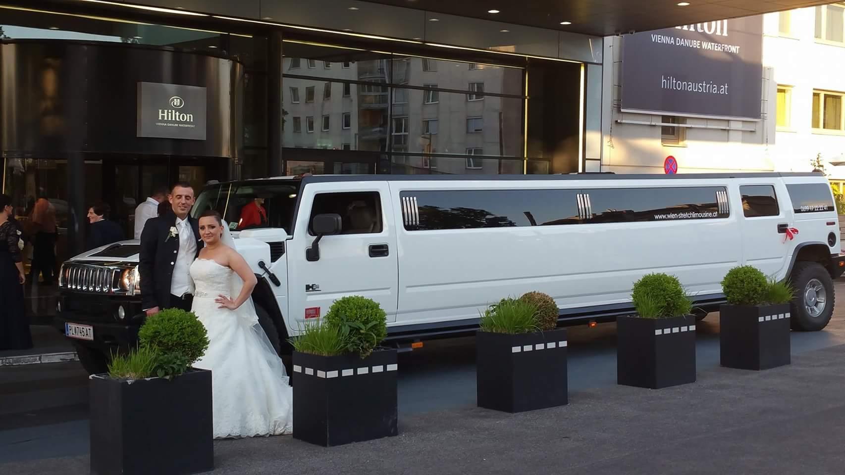Hochzeit Limo